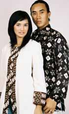 Blouse Muslim Batik And Sasirangan Men And Women