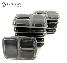 wholesale bpa free stackable disposable take away plastic custom leakproof bento box for kids
