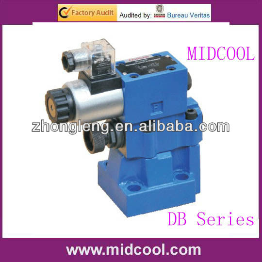 DB Series Pilot Operated Relief Valves pressure quick