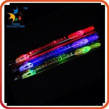 promotional custom fancy led cheering glow drum sticks