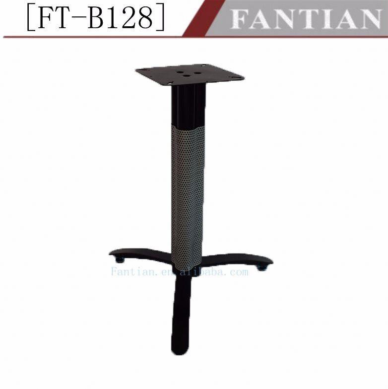 Fantian FT-B128 new design metal table leg furniture parts for restaurant table base