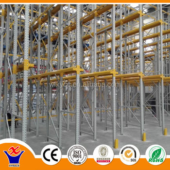 Warehouse Storage Equipment Drive in Rack Steel Pallet Racking Professional Factory
