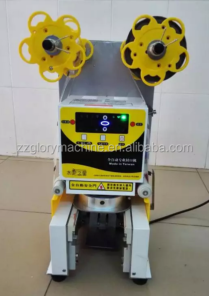 Top Quality Restaurant Automatic Juice Cup Sealing Machine With Cheap Prices