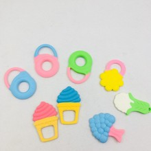 Wholesale BPA Free Baby Silicone Teether