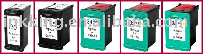 Remanufactured for HP 130 / 131 / 134 / 135 / 136 ink cartridge