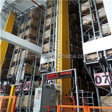 High heavy duty auto storage pallet racking system