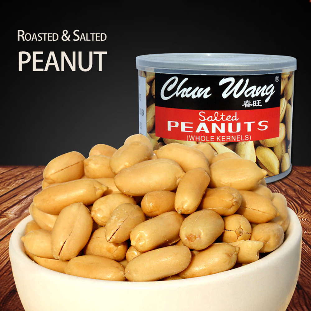 Canned salted peanuts snack food 150g