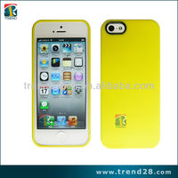 cell phone protection rubber oil coating case for iphone 5