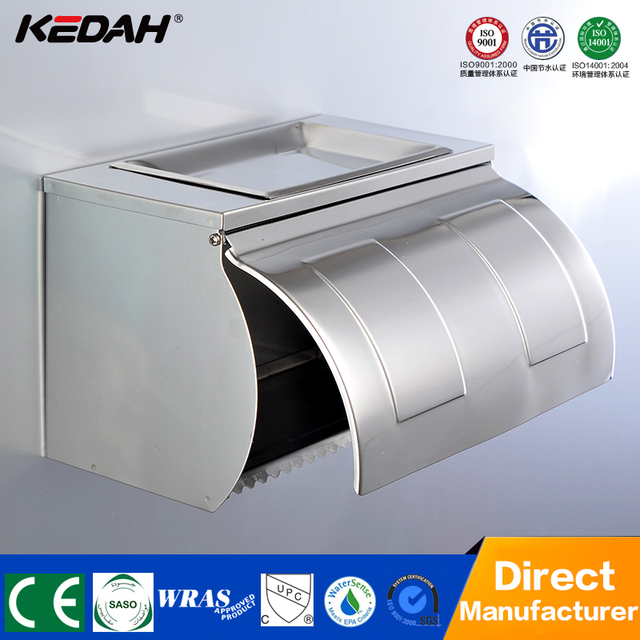 Chrome plated handmade toilet paper holder toilet tissue paper holder bathroom accessories paper holder