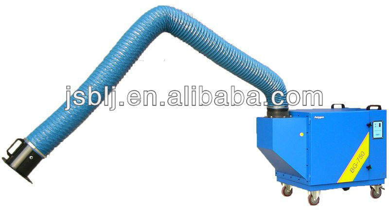 Mobile Welding grease purifier with Electrostatic Precipitator