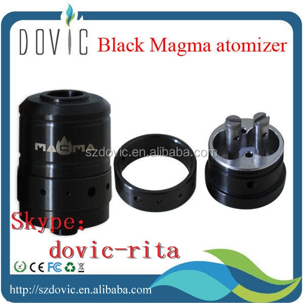 High quality wholesale silver contact atomizer black magma with fast delivery