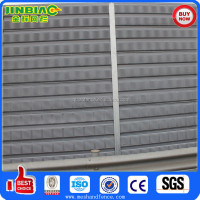 Noise Barrier/Sound Absorbing Wall/railway/subway/highway/metal /custom barrier/decoration/soundproof /Reflective cassette