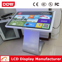 "47"" LED backlit kiosk manufacturer lcd floor display stands kiosk touch monitor DDW-AD4701TKPC"
