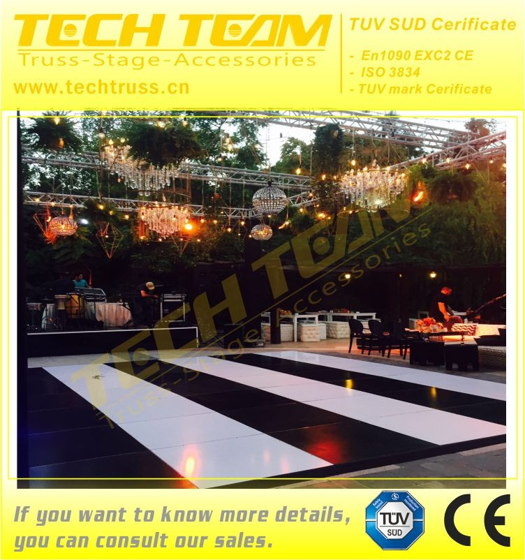 MDF Material Catwalk Dancing Floor Stage For Event Party, Show,Exhibition