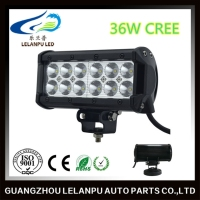 Hot sale 36w 6.5inch led work light 36w 5.6inch double row headlight
