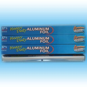 Food packaging aluminium foil roll paper for supermarket