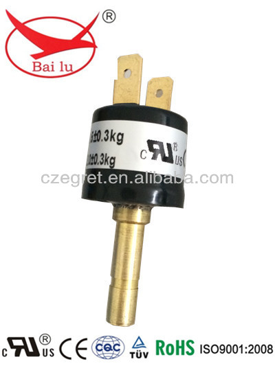 auto reset water heater gas pressure switch