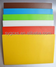 Plastic Material FDA /CE / ISO9001/SGS Certification plastic cutting board/block/mat bespoke chopping boards