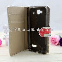 Fashionable Retro Style leather case for alcatel one touch idol mini 6012