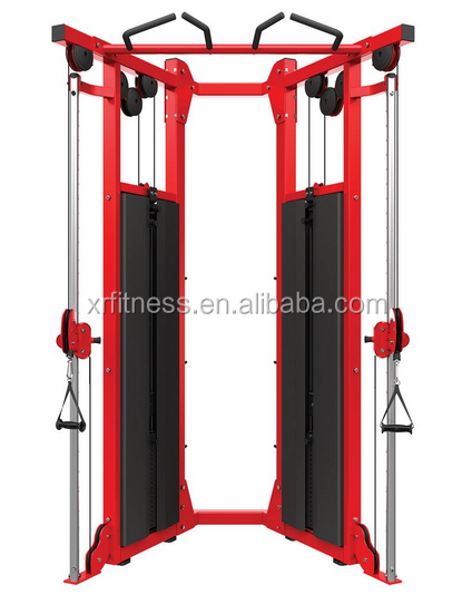 HD Elite Cable Training Station Dual Adjustable Pulley (XR704)