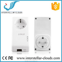 500Mbps Electric Power Adapter Link Ethernet Homeplug