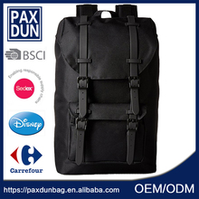 Fashion men black leisure Best Quality Useful Cheap Plain Backpack