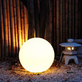 waterproof led glow swimming pool ball with phone app control color changing garden decoration