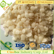 Natural organic white beeswax pellets