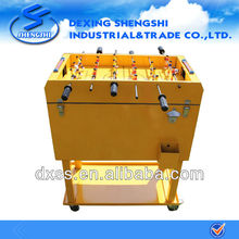 Football table ice chest cart metal rolling cooler box 65L