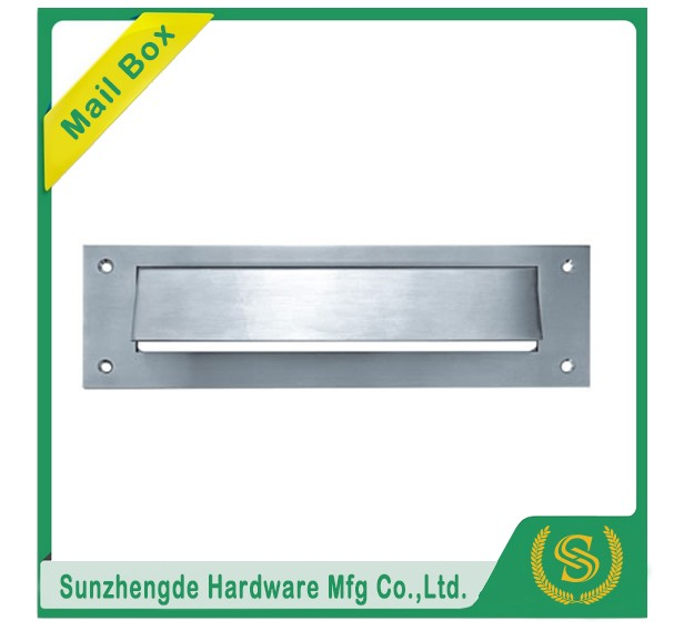 Security door mail slots