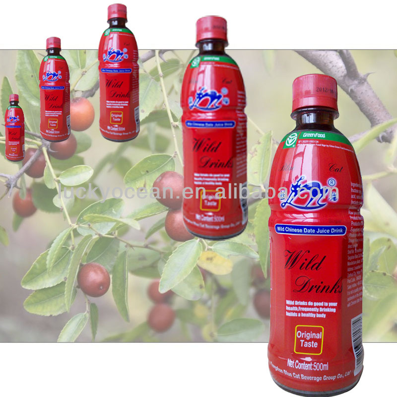 sweet and sour flavor mixed wild jujube beverage