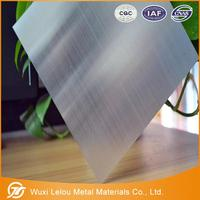 5052 H112 aluminum alloy sheet plate with PVC PE film