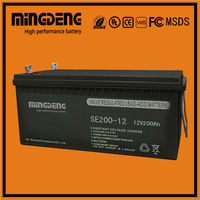 Pakistan market 12v 55ah agm battery for inverter for Inverter