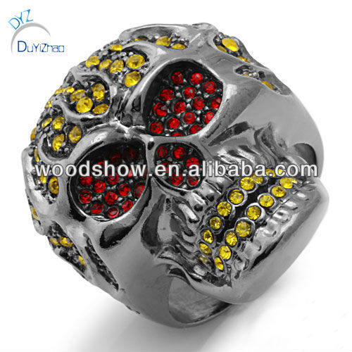 Fashion skull rings/mens ring
