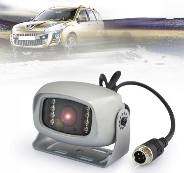 Factory New arrived 1/3 Sony HAD 8pcs IR night vision distortion correction rear view cameras
