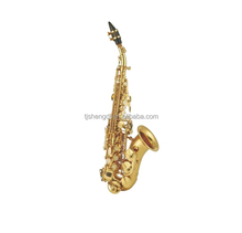 Chinese cheap professional cheap Bb curved soprano saxophone