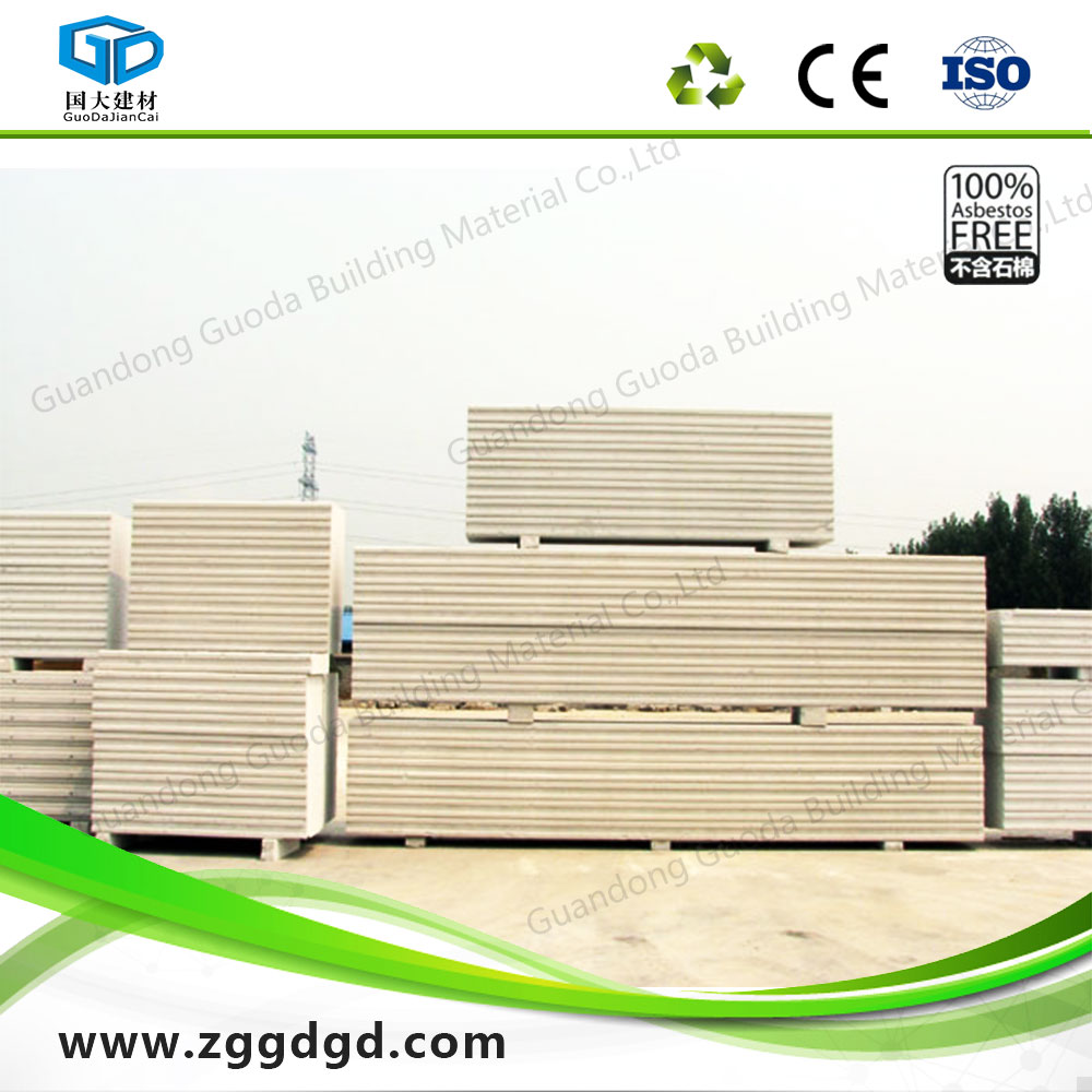 Residential autoclaved concrete wall slabs AAC/ALC panels easy and fast installation