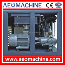 Industrial rotary screw air compressor 55kw 75hp