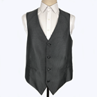 Wholesale  Men's black Winter Cotton  Vest Waistcoat