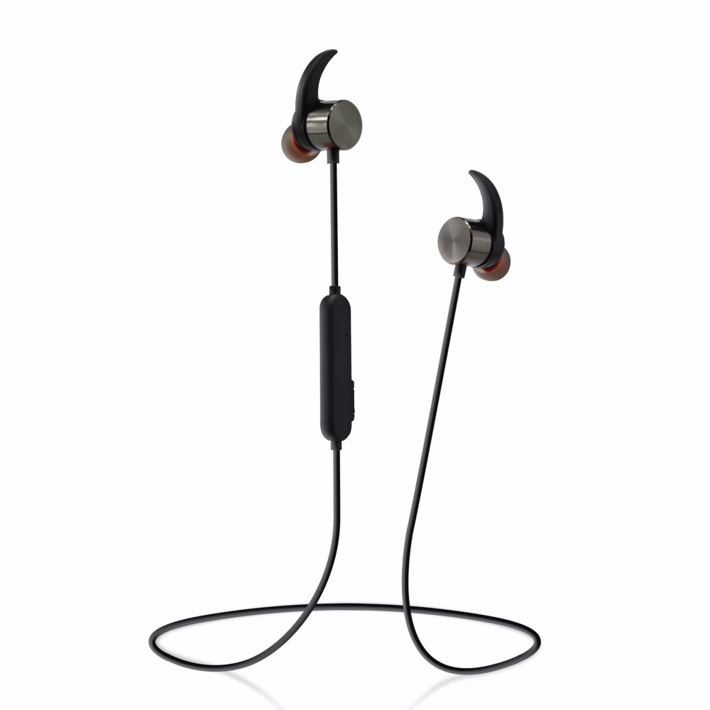 Custom brand wireless bluetooth sports headset headphone with mic R1615 handsfree earphone