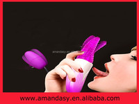 Crazy tongue remote control vibrator,tongue vibrator sex toys for sexy girls PD027
