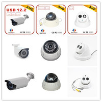 Lowest cost 1/4 cmos ir night vision 720p 1mp cctv camera ahd