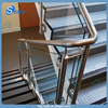 Stair Railing With Stainless Steel Handrail