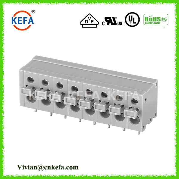 KEFA KF211R 5.0mm pitch RA screwless connector terminal for light