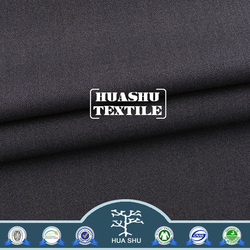 Hot selling Good quality Customizable composition AZO-free suiting navy blue and white stripe fabric