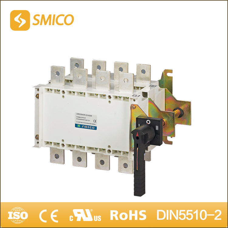SMICO China Innovation Products 3 Phase Manual Change Over Changeover Switch