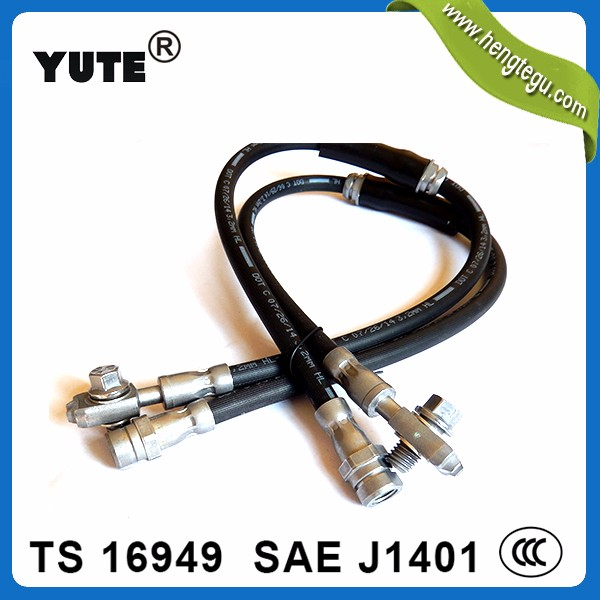 YUTE made 7.5mm FKM rubber din 73379 fuel hose with iso/ts 16949