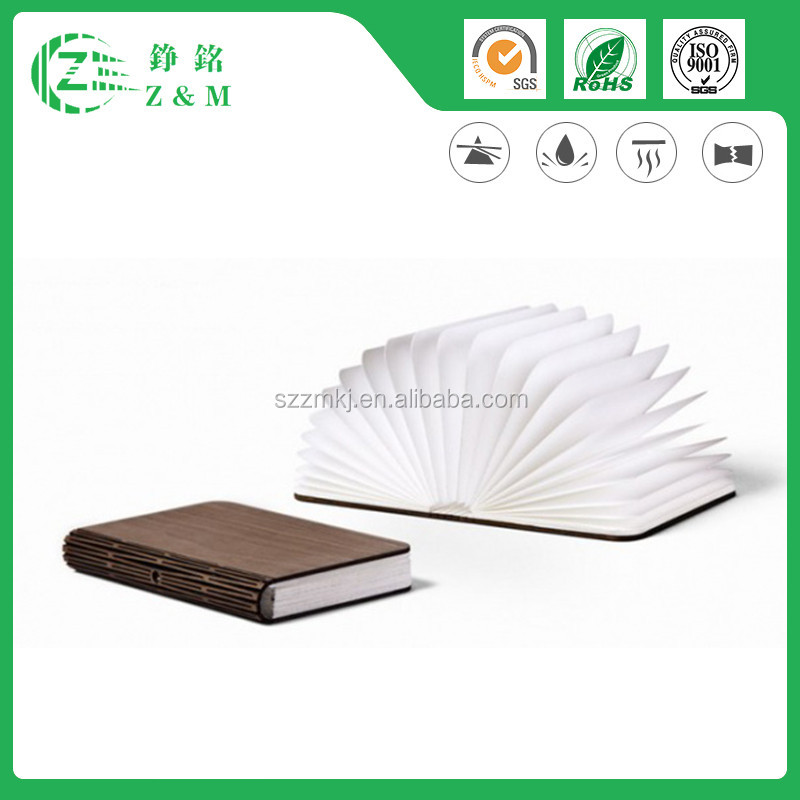 Good Quality Price Tyvek Book Shape Light/Indoor Lamp