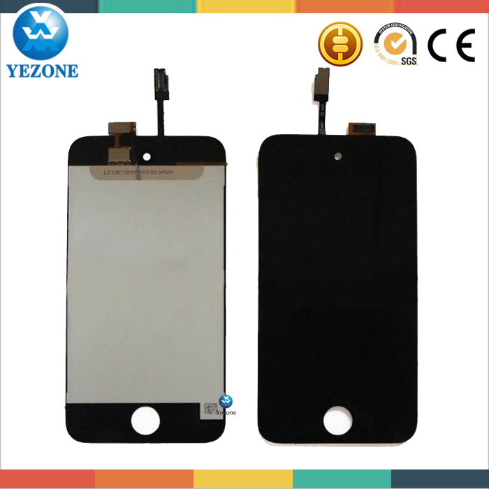 2015 New Style Quality Guaranteed LCD Screen For Ipod, Replacement For Ipod Touch 4th Generation LCD Digitizer Touch Screen