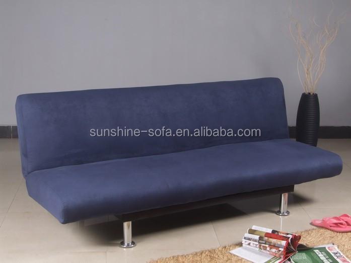 Sin brazos tejido klik klak futon muebles sof cama sof s for Sofa cama sin brazos